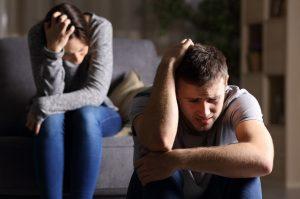 couple facing divorce needing a divorce attorney